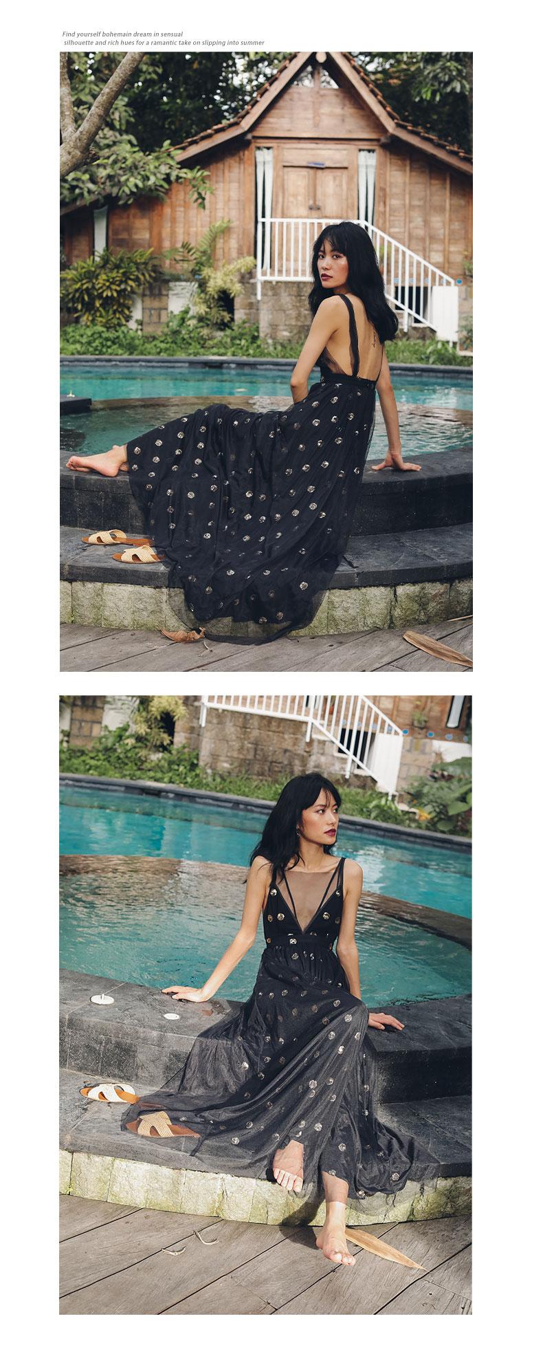 구카(GUKA) 마모니시 샤 드레스